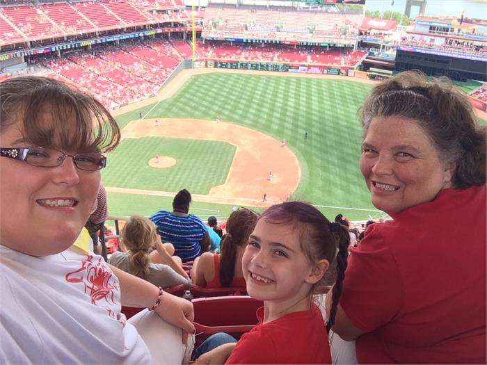 Trip to Reds Game - Wells