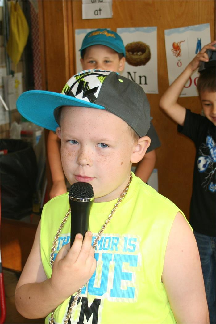 Career Day - Rapper