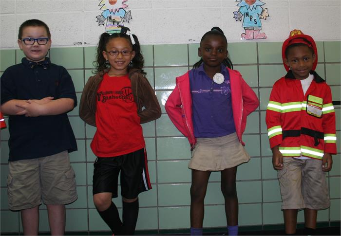Career Day - Creater, Soccer Player, Model, Fireman