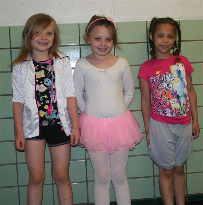 Career Day - Doctor, Ballerina