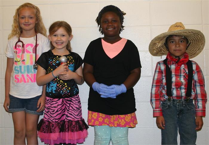 Career Day - Doctor, Singer, Doctor, Farmer