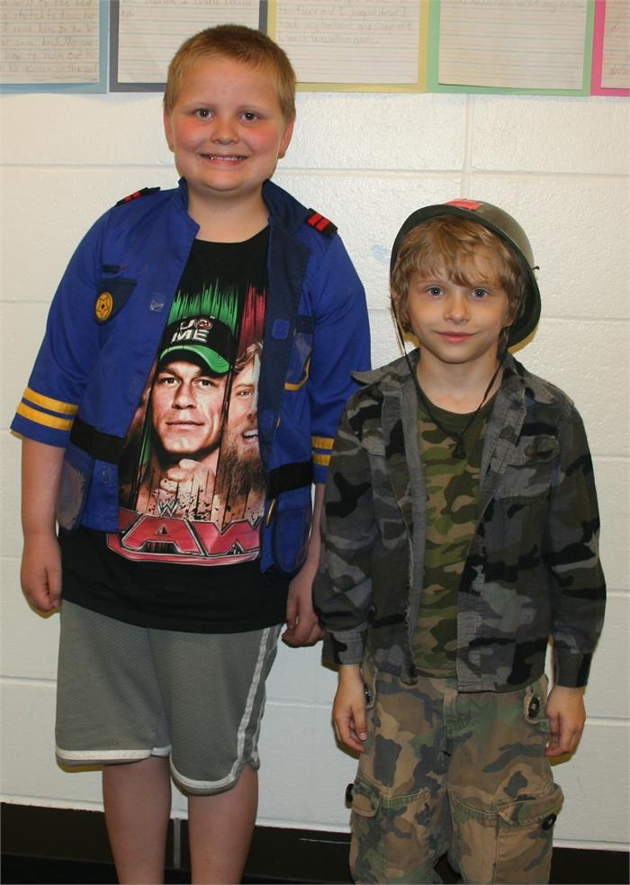 Career Day - Police Officer, Military