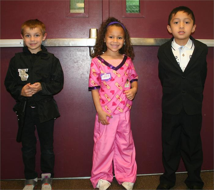 Career Day - SWAT, Doctor, President
