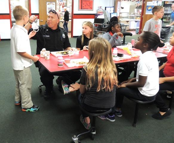 First Responders answering student questions