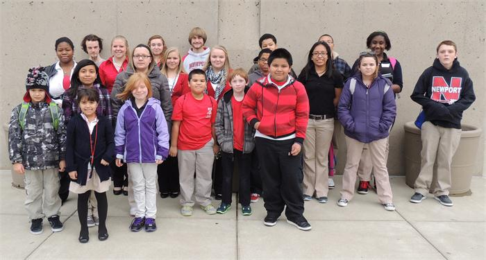 STLP students who attended the Regional Competition at NKU.